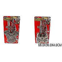 Рыцарский набор 63541/2 (1524013-4) (48шт/2) 2 вида, на планшетке 68*36*4см