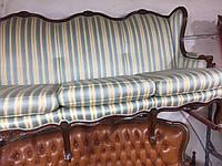 Диван трехместный. Мягкая мебель в стиле рококо  б/у.