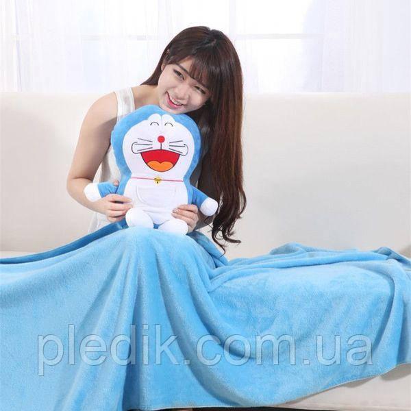 Плед детский 100х170 плед-игрушка Огги