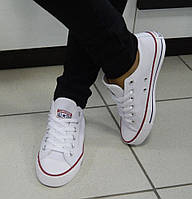 Кеды женские Converse All Star белые, фото 1