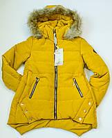 Куртка подовжена на дівчинку ріст 128 -164 см