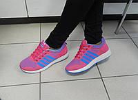 Кроссовки женские DUAL розовые, голубые, фото 1