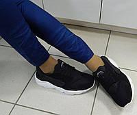 Кроссовки женские Huarache Хуарачи черные, фото 1