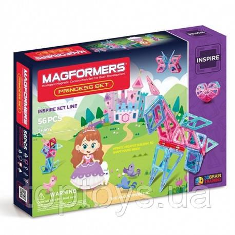 Магнитный конструктор Magformers Прекрасная принцесса, 56 эл. (704003)