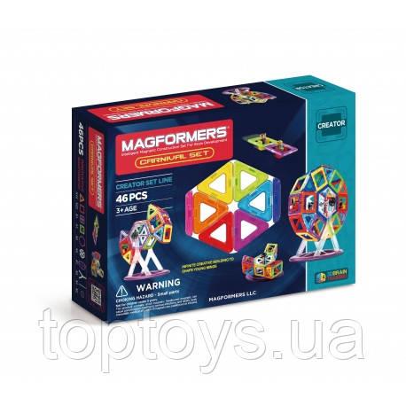 Магнитный конструктор Magformers Карнавал, 46 эл. (703001)