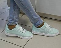 Кроссовки женские мятные, фото 1