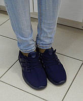 Кроссовки женские Синие, фото 1