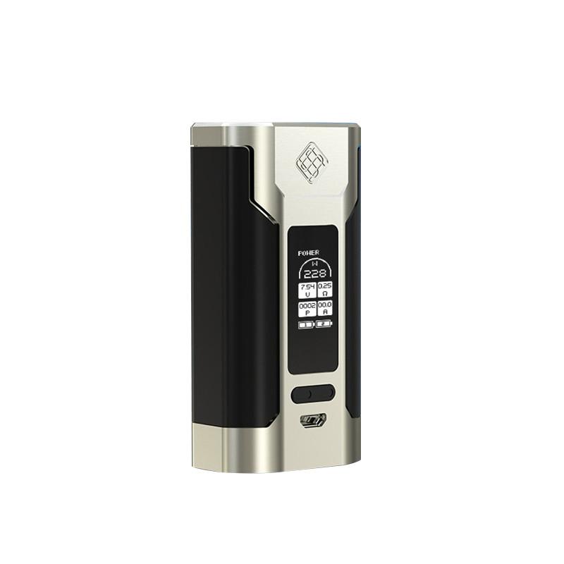 Батарейный мод Wismec Predator 228W (SILVER/BLACK) - оригинал