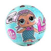 Кукла-сюрприз L.QL. в шарике, с аксессуарами,Cюрприз кукла в яйце,Кукла-шарик LOL
