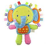 Мягкая игрушка - погремушка Слоненок Happy Monkey