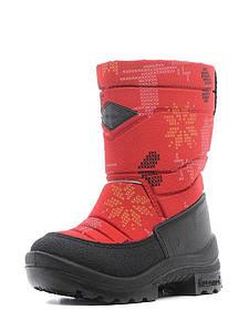 Зимние сапоги р.23,24 детские Путкиварси на шерсти ТМ KUOMA Красный Олень 130304-0458