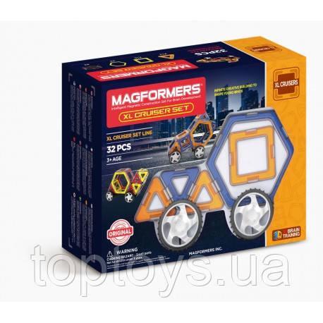 Магнитный конструктор Magformers Крейсер XL, 32 элемента (706001)