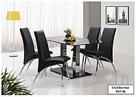 Стол обеденный Богема ROT-06 закаленное стекло