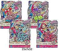 Кукла  Ever After High Waytoo Wonderland  2117 (1459202) 4 вида,  акс,  на шарн,  в  коробке 25*7*32  см.
