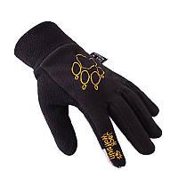 Флисовые перчатки Jack Wolfskin для сенсорных устройств (L)