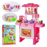 Кухня детская игровая WD-A22. Свет, звук, продукты, посуда.
