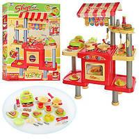 Детская кухня 90 см, 008-33. Касса, продукты, посуда, фото 1
