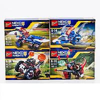 Конструктор Bozhi серия Nexo Knights 110-1/4 (Аналог Lego Nexo Knights) 4 вида ВЕСЬ НАБОР