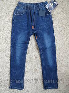 Зимние  джинсы на флисе для мальчиков подростков с Венгрии оптом , размер 116-146, фирма S&D