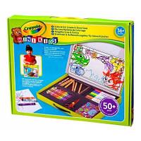 Набор для творчества в чемодане Маленький художник Crayola (81-8114)
