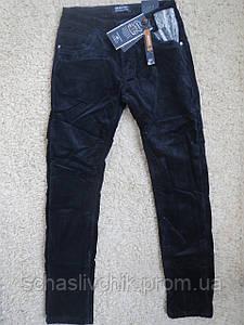 Зимние на флисе стильные вельветовые  брюки для мальчиков ,134-164 размер, Производитель Seagull