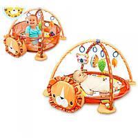 Детский развивающий коврик - Манеж 63571 с шариками