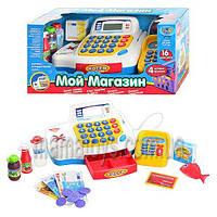 Интерактивная касса. Мой магазин 7020. калькулятор,звук, продукты