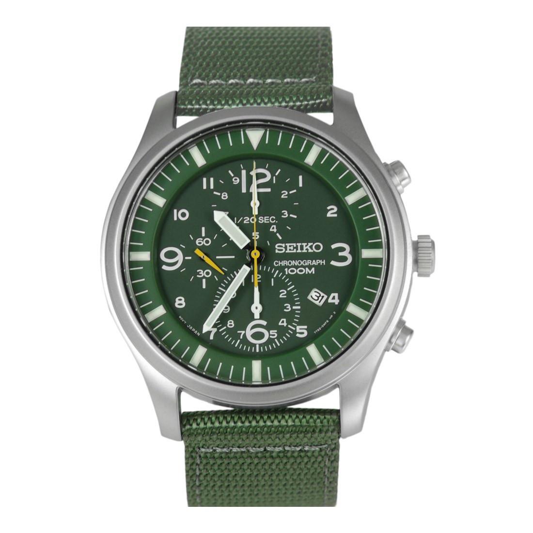 Часы Seiko Military SNDA27P1 хронограф Quartz 7T92