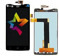 Дисплей (Модуль) для мобильного телефона Acer S510 liquid S1, черный, с тачскрином