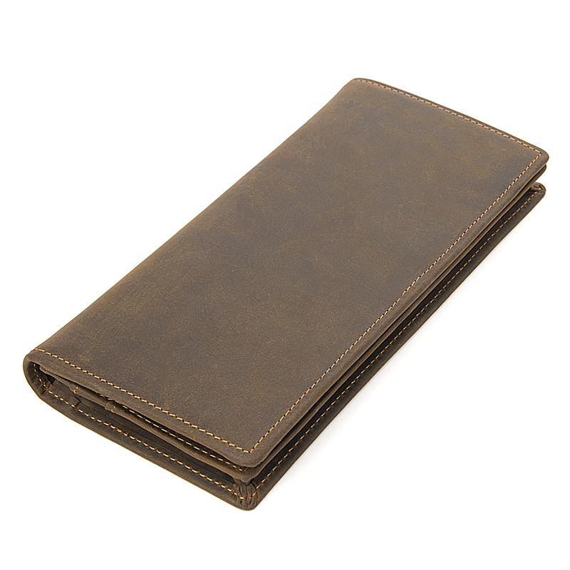 Кожаный мужской кошелек R-8167R