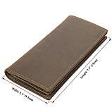 Кожаный мужской кошелек R-8167R, фото 7