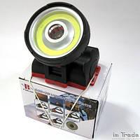 Налобний ліхтар Police BL-901 COB+3W, фото 1