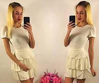 Женское платье короткое на лето