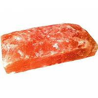 Кирпич из гималайской соли - плитка рваная SZ1R (20x10x5 см)