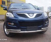 Кенгурятник двойной ус на Great Wall Hover (c 2010--) Can Otomotiv