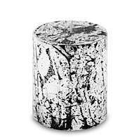 Свеча парафиновая серебро маленькая artpol 474