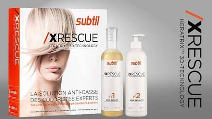 XRESCUE Keratrix™ 3D-технология - уникальный восстанавливающий комплекс для волос 7,5 мл №1+20 мл №2, фото 2
