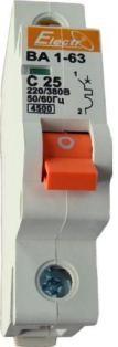 Выключатель автоматический ВА1-63 1р/С1,6А 4,5кА
