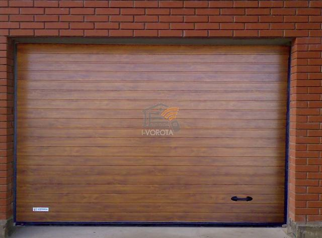 ворота на гараж фото