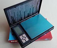 Весы портативные ювелирные NOTEBOOK 2 кг, 6296/1108-2, (0,1г)