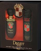 Dagger  Dina Cosmetics набор туалетная вода 100ml + дезодорант 150ml (оригинал подлинник Франция)
