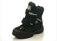 Детская зимняя обувь термо-ботинки B&G: ZTE17-017,р.30,31,32,33,34,35
