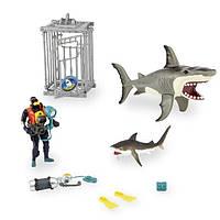 Игровой набор морские животные Animal Planet Extreme Shark Adventure Playset