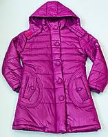 Пальто  на девочку рост 128-140 см