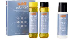 SUBTIL COLOR OUT средство для удаления краски с волос 150 мл