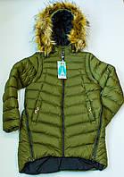 Зимнее пальто   на девочку рост  164 см, фото 1