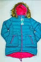 Зимове пальто на дівчинку зріст 152 см