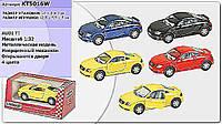 "Машина металл ""KINSMART"" KT5016W (96шт/4)""Audi TT Coupe"", в коробке 16*8*7см"