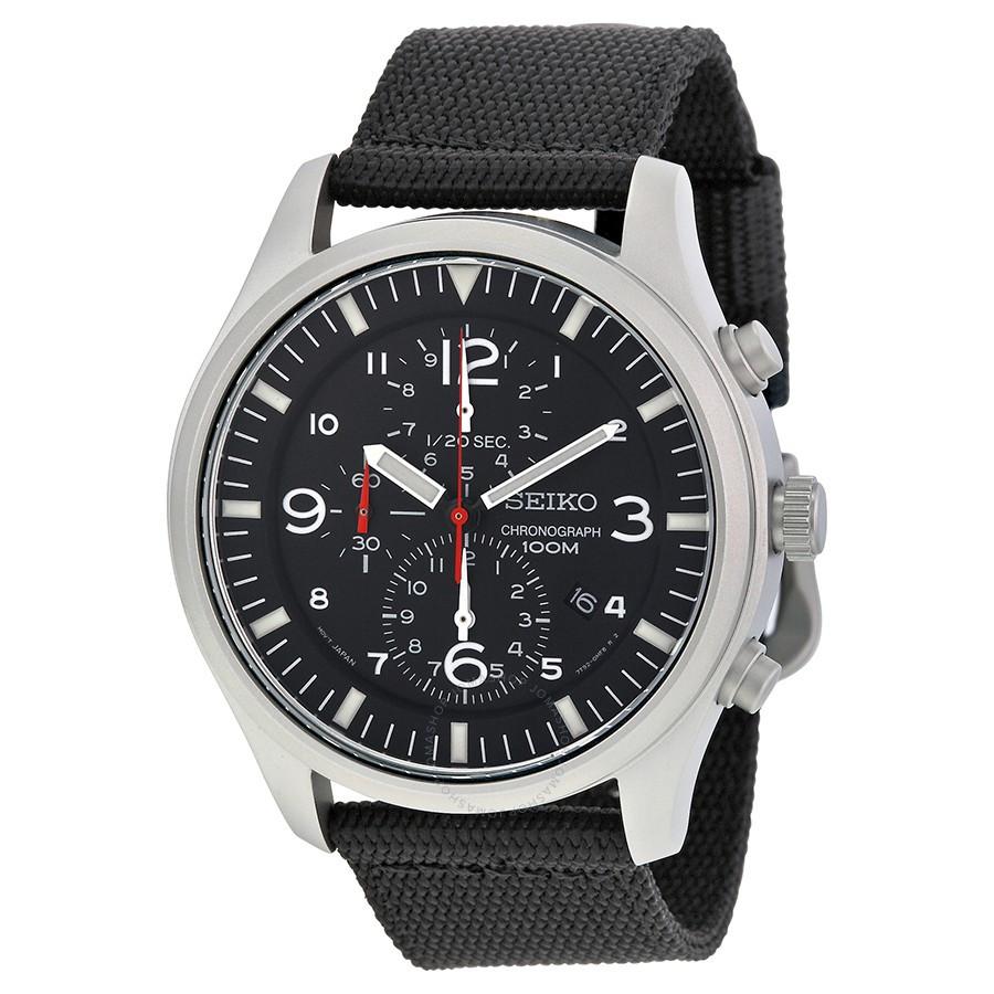 Часы Seiko Military SNDA57P1 хронограф Quartz 7T92