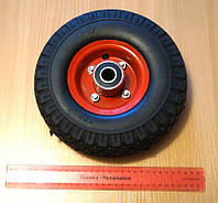 Колесо для тележек и тачек пенополиуретановое, диаметр 250 мм